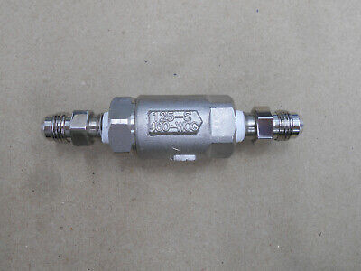 Stainless Steel Check Valve Ball Cone 125-s Cii 14 316 Ss