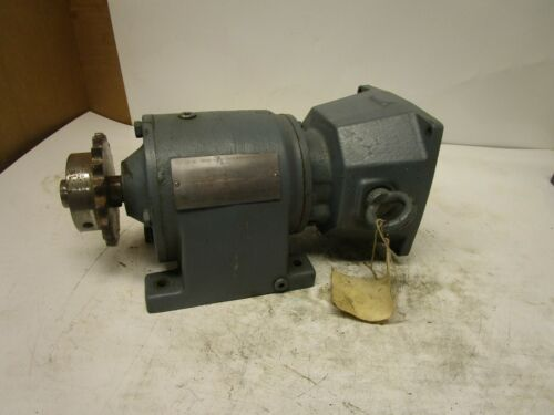 SEW EURODRIVE R40D14 17.45:1 INLINE GEARBOX SPEED REDUCER 74-45NM 25-125RPM