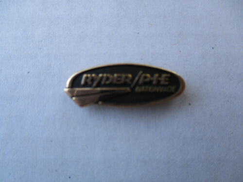 Ryder PIE Service Safe Driver Award Trucker Trucking Truck Pin