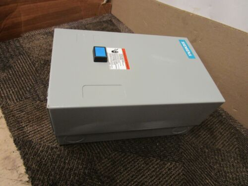 "SIEMENS 12-3/4""X 8"" X 6-1/4"" ENCLOSURE FOR 14FUF32BA REVERSING MAGNETIC STARTER"