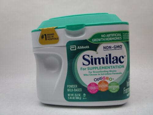 Similac Supplementation Milk Based Powder Infant Formula 23.2oz 01/23