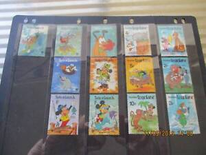 Togolaise, Turks , Caicos Is - Disney stamps -hangar & stamps $2