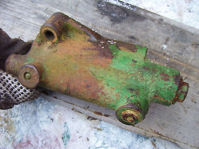 Vintage Oliver 1650 Diesel Tractor -power Steering Supply Block - 1966