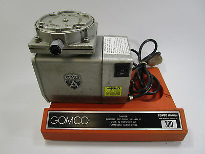 Gomco 300 Medical Suction Pump Device