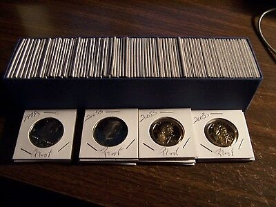 100 Coin Lot  L  K The Best U S A  Proof Coins Free Ship No Duplicates In 1 Box