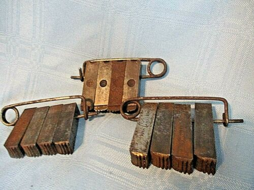 Set of 3 Vintage  Unknown  (?) Tool Accessory.
