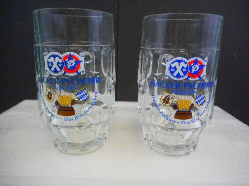 Hacker-Pschorr Munchen Beer Mugs