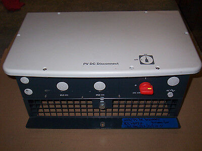 Abb Power One Pv Dc Disconnect S.c Trio 27.620.0-us-s1
