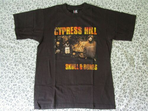 VTG Cypress Hill Skull and Bones Tour Concert Promo T-Shirt 90s