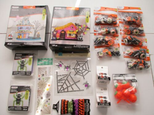 Halloween Bonanza Huge Craft Lot Prizes Treats Party Spiders Kits Party Favors