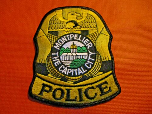 Collectible Vermont Police Patch,Montpelier,Capital City,New