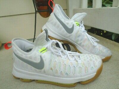 """Nike Zoom KD """"Summer"""" KD 9 Kevin Durant Basketball Shoes 843392-900 Size 8"""