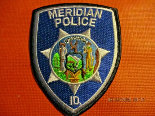 Collectible Idaho Police Patch,Meridian,New