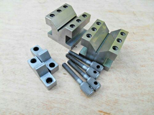 Set of 2 Taft-Peirce V Blocks - Style - 9128 - No. 634D