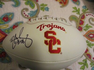 REY MAUALUGA DOLPHINS BENGALS DOLPHINS SIGNED USC TROJANS FOOTBALL COA PROOF - Rey Maualuga Usc