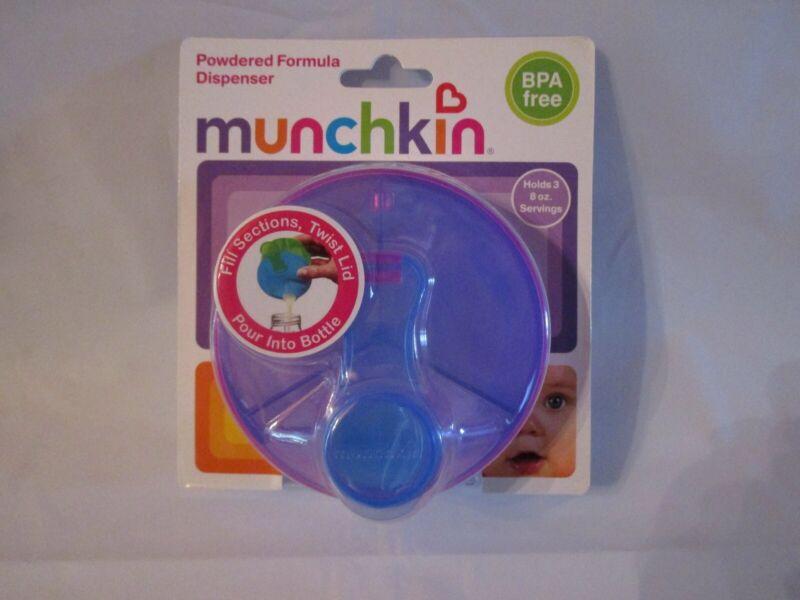 Munchkin Powdered Formula Dispenser Holds Three 8 ounce servings *NEW