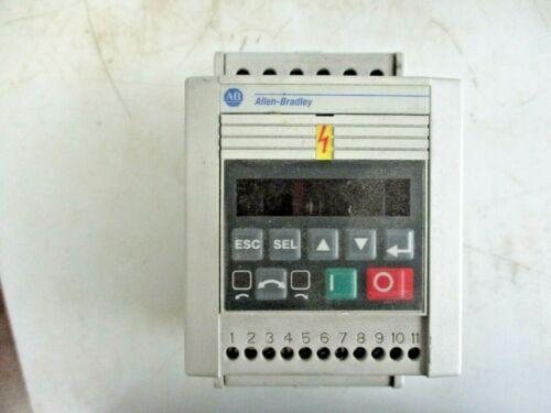 ALLEN BRADLEY ANALOG S.F. SER C FRN:7.05 3HP 160-BA06NSF1