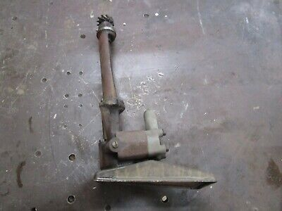 Ih Farmall F20 Working Engine Oil Pump  Antique Tractor