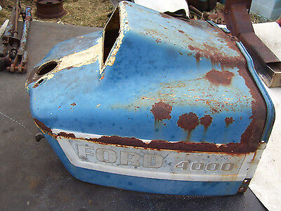 Vintage Ford 3000 Tractor -dash Housing Assembly- 1966