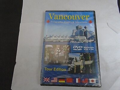 VANCOUVER GEOGRAPHY, HISTORY & ATTRACTIONS TOUR ED. DVD NEW