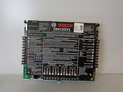 Read Bosch D9412gv3 Security Systems Control Panel Alarm Communicator