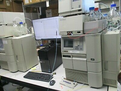 Waters Alliance 2695 Hplc With Waters 2996 Pda And 2487 Dual Absorbance Detector