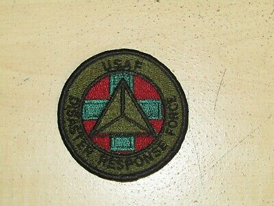 Vintage USAF U.S. Air Force Uniform Patch -disaster response force for sale  Altona