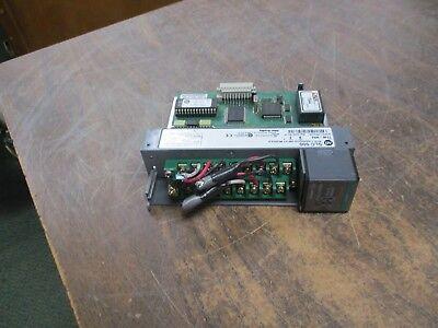 Allen-bradley Slc 500 Rtdresistance Input Module 1746-nr4 Ser. B Frn 2 Used