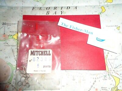 3 GARCIA MITCHELL 900 BAIL SPRINGS PART 82560 NEW NOS MITCHELL VINTAGE PARTS