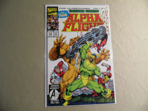 Alpha Flight #118 (Marvel 1993) Free Domestic Shipping