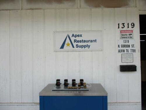 New! Perlick 4 Beer Pump Panel # 4695