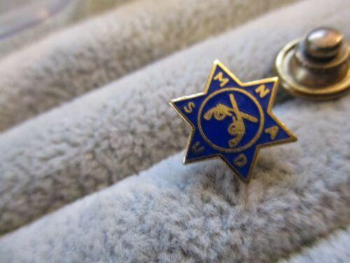 vintage NATIONAL ASSOCIATION OF DEPUTY US MARSHALS SCREW BACK PIN