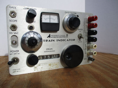 STRAIN INDICATOR Automation Industries, Model P-350