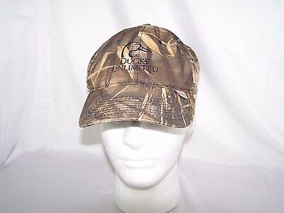 Ducks Unlimited Outdoor Hat Cap Camo OSFM Hunting Fishing 658ffc4057a6