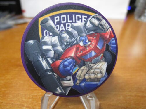 NYPD IAB Internal Affairs Bureau Transformers Ceramic Police Chip Challenge Coin