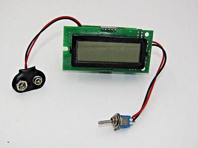 Digital Lcd K-type Thermocouple Pyrometer Assembly 0-1999 F 0-1200 C 9v