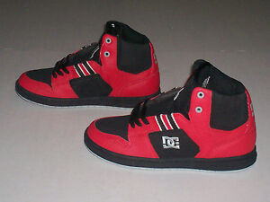 DC-Shoes-Spark-High-RS-Mens-Sneakers-Shoes-Red-Black-Grey-Size-8-5