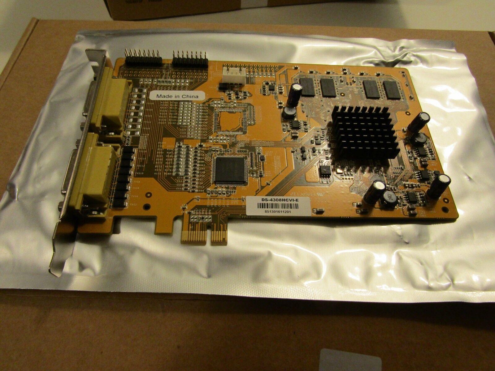 Hikvision DS-4308HCVI-E 8 Camera H.264 PCI-E Compression DVR Card
