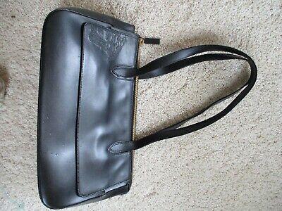 Vintage Versace Embroidered Medusa Purse Handbag