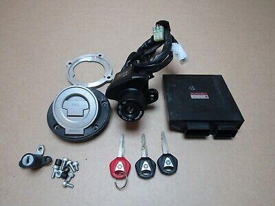 Yamaha MT09 Tracer ABS 2016 18,008 miles ECU ignition lockset (3735)