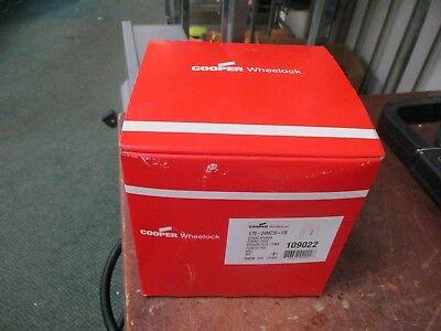 Cooper Wheelock Strobe Speaker E70-24mcw-fr Strobe 24vdc Wall Red New Surplus