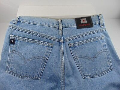 Saint Laurent Paris (YSL) (BRAND NEW) WHITEWASHED DENIM JEANS Size 42  $650.00!