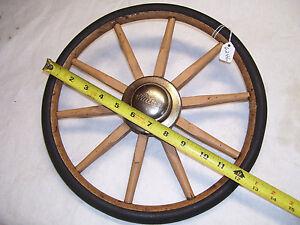Wooden Spoke Wheel Vintage 12 11 16 Diameter Whitney Baby