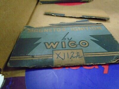 Nos Wico Type Aph Coil Cover Cap Part Number X1122