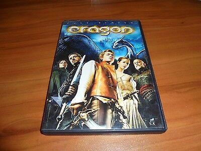 Eragon  Dvd  2007 Full Frame   Edward Speleers  John Malkovich Used Dragon Rider
