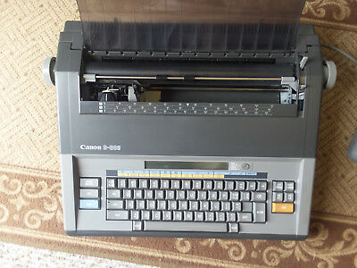 Gently Used Canon Electronic Typewriter Waccessories Pu Only Fairfield Ca
