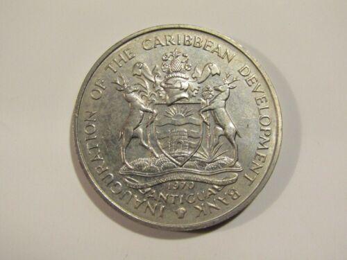 Antigua 1970 4 Dollars unc Coin