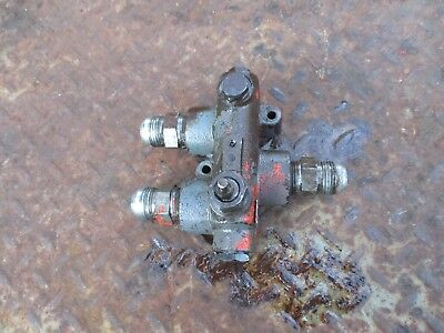 1975 1370 Case Diesel Farm Tractor Hydraulic Block Valve Free Ship