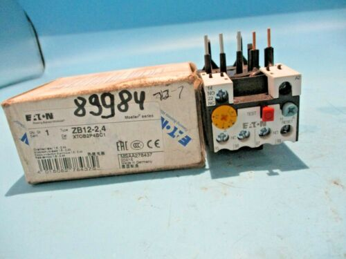 NEW EATON ZB12-2.4 OVERLOAD RELAY 1.6-2.4A