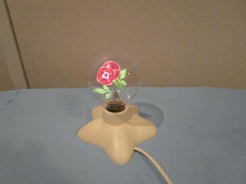 Vintage Lighted Flower Light/Lamp
